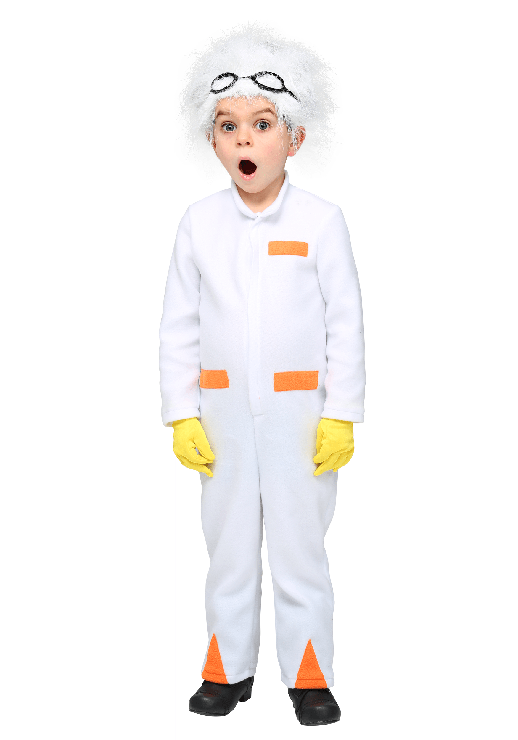 Back to the Future Doc Brown Costume for a Toddler