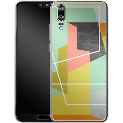 Huawei P20 Silikon Handyhuelle - Color Block II von Susana Paz
