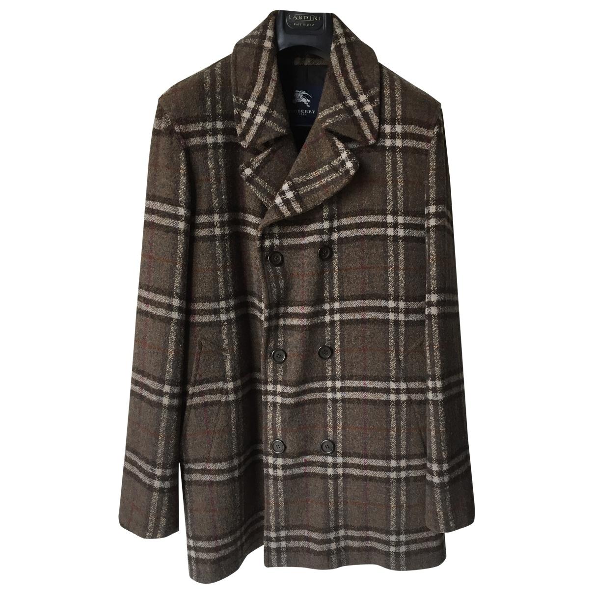 Burberry \N Grey Wool coat  for Men L International