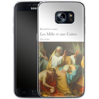 Samsung Galaxy S7 Silikon Handyhuelle - Mille Et Une Cuites von Fists Et Lettres