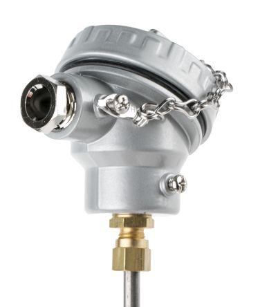 RS PRO Type K Thermocouple 200mm Length, 6mm Diameter → +1100°C