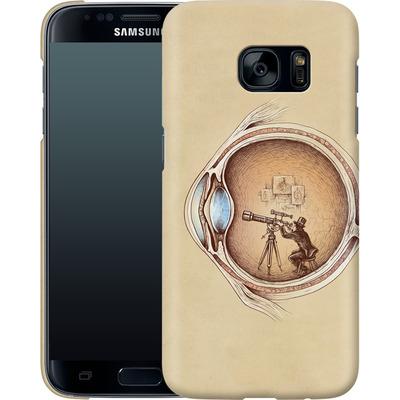 Samsung Galaxy S7 Smartphone Huelle - Extraordinary Observer von Enkel Dika