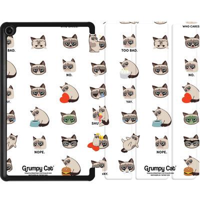 Amazon Fire 7 (2017) Tablet Smart Case - Grumpy Cat Pattern von Grumpy Cat