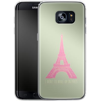 Samsung Galaxy S7 Edge Silikon Handyhuelle - Oui Oui von Bianca Green