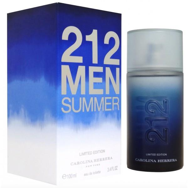 212 Men Summer - Carolina Herrera Eau de toilette en espray 100 ML
