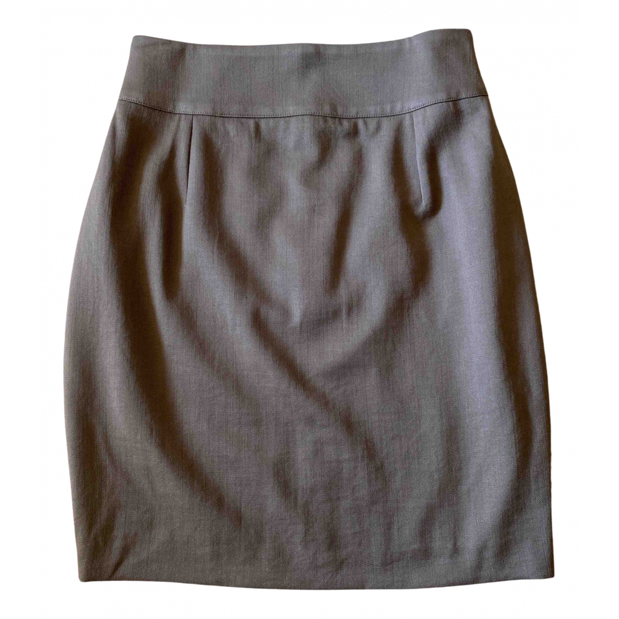 Byblos N Khaki Wool skirt for Women 42 IT