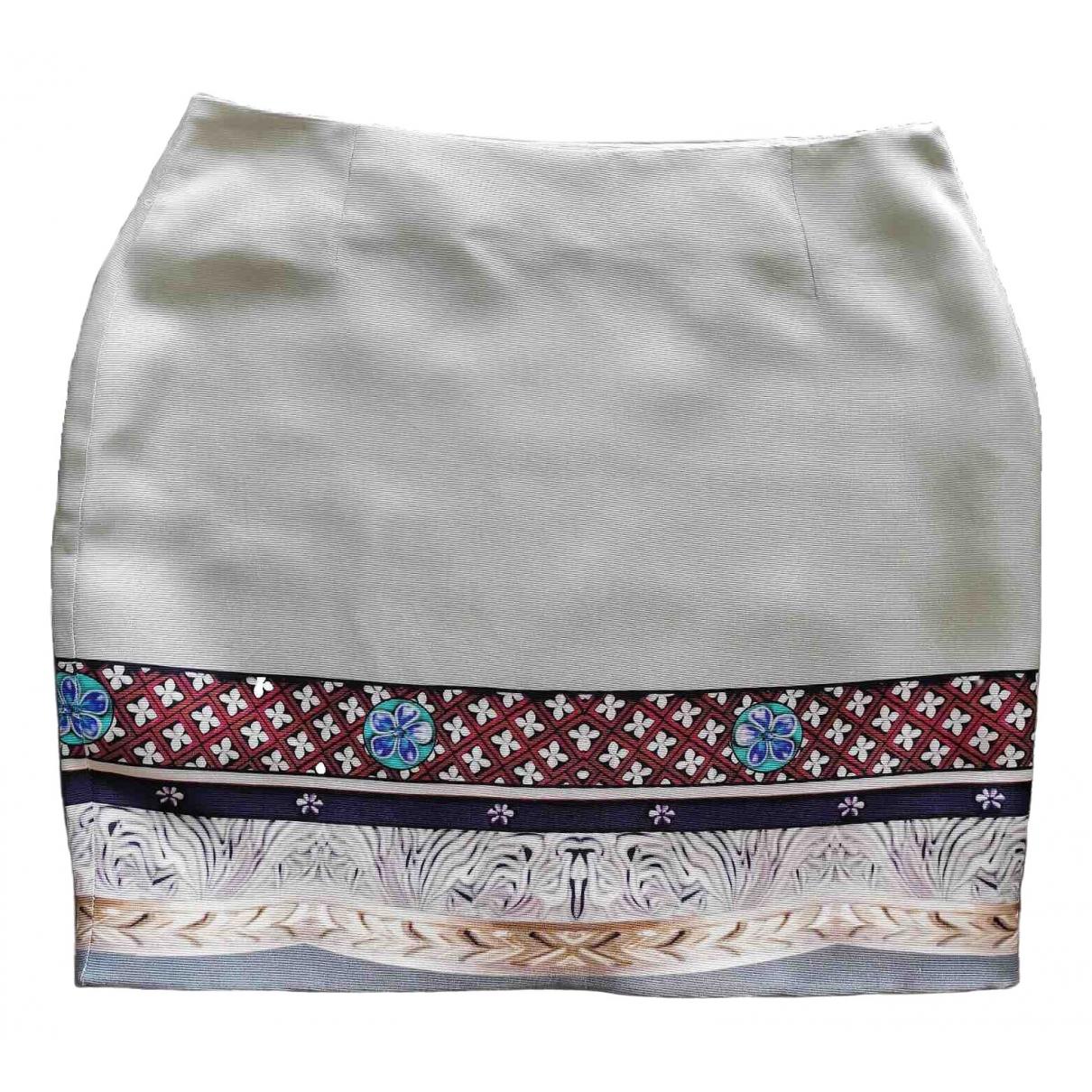 Mary Katrantzou - Jupe   pour femme en soie - gris