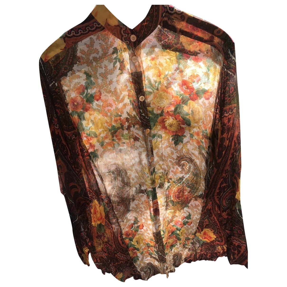 Kenzo \N Multicolour Silk dress for Women 38 FR