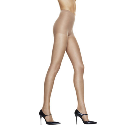 Hanes Silk Reflections Silky Sheer Control-Top Reinforced Toe Pantyhose, Ab , No Color Family