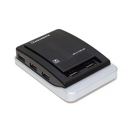 Hub USB 2.0 7 ports avec adaptateur secteur pour PC, ordinateur portable, Mac - Monoprice®