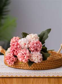 1bunch Artificial Flower With 5pcs Head