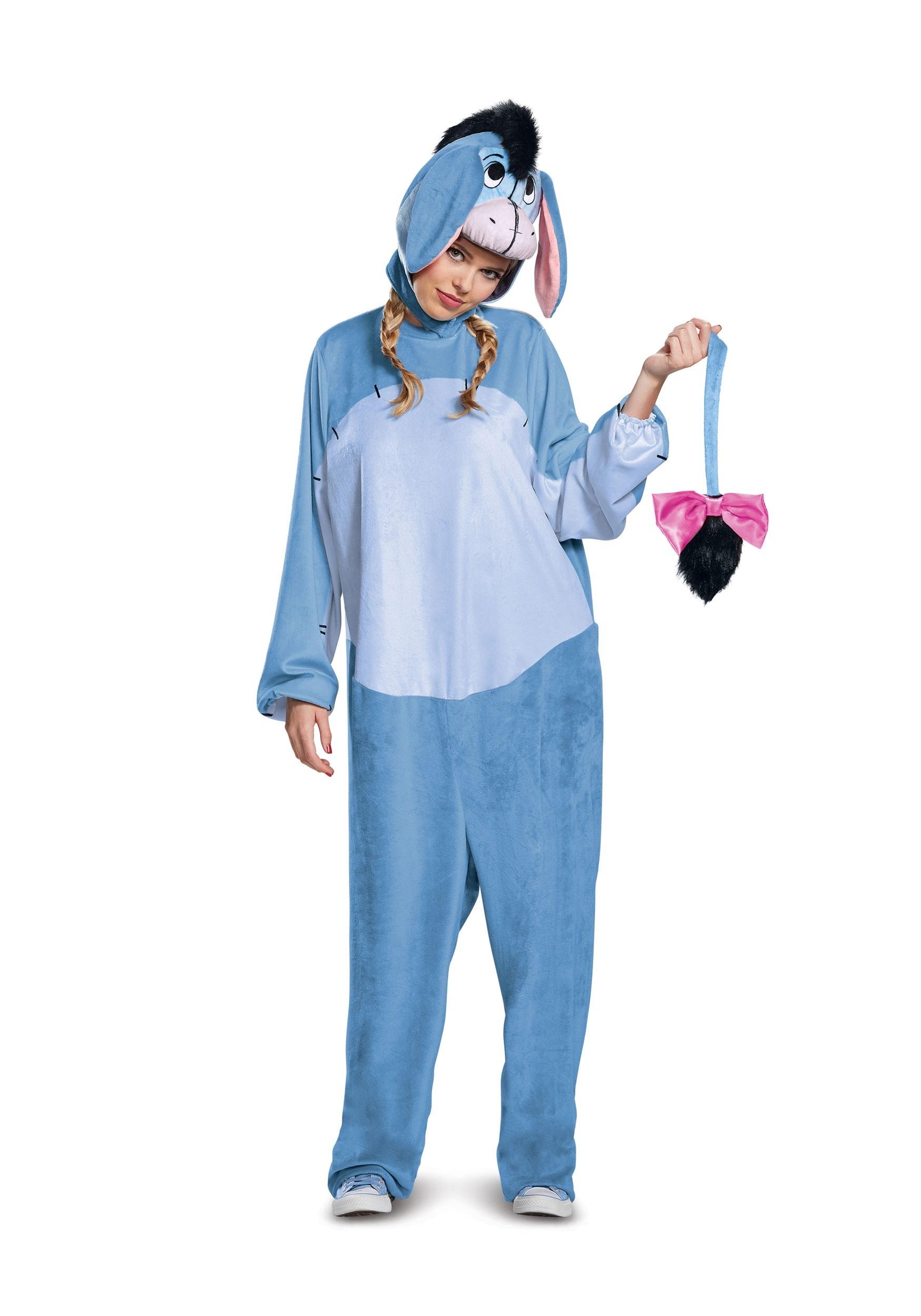 Deluxe Eeyore Costume for Adults