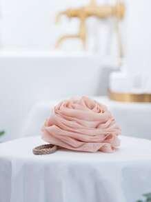 Rose Shaped Foaming Bath Ball