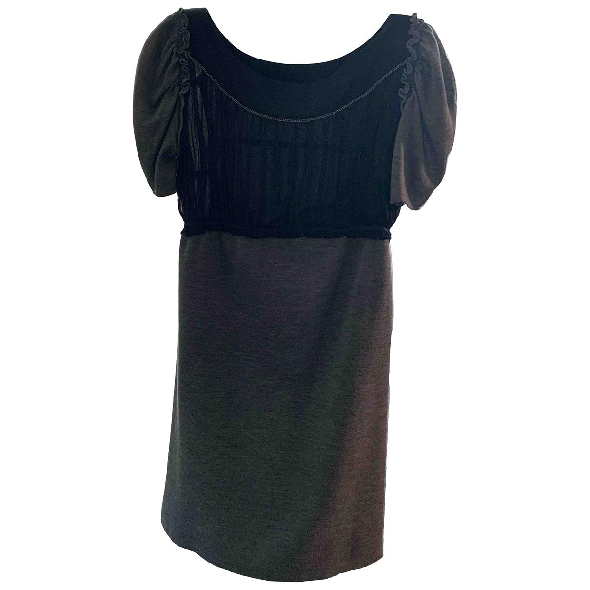 Mini vestido de Lana Philosophy Di Alberta Ferretti