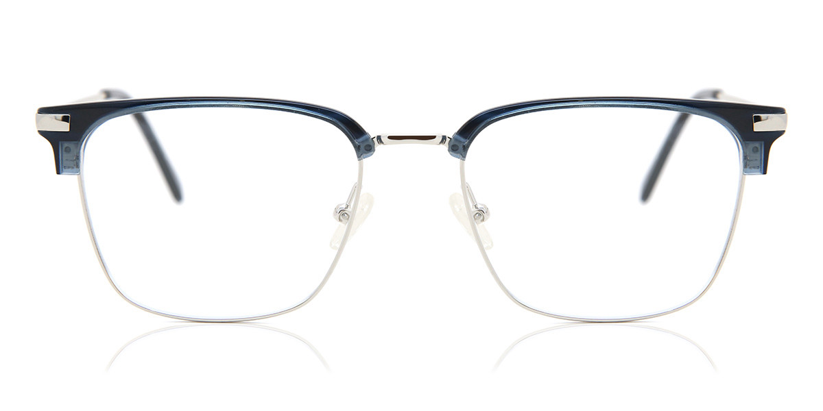 Square Full Rim Plastic Men's Glasses Discount Black Size 53 - Free Lenses - HSA/FSA Insurance - Blue Light Block Available - Arise Collective