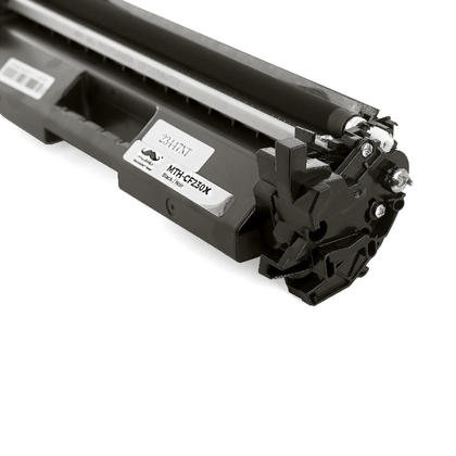 Compatible HP 30X CF230X cartouche de toner noire haute capacité avec puce - Moustache®