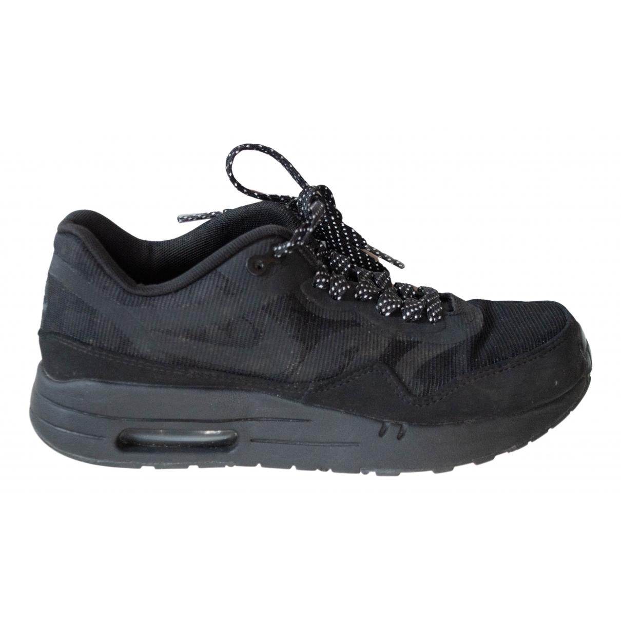 Nike Air Max 1 Black Cloth Trainers for Women 37.5 EU