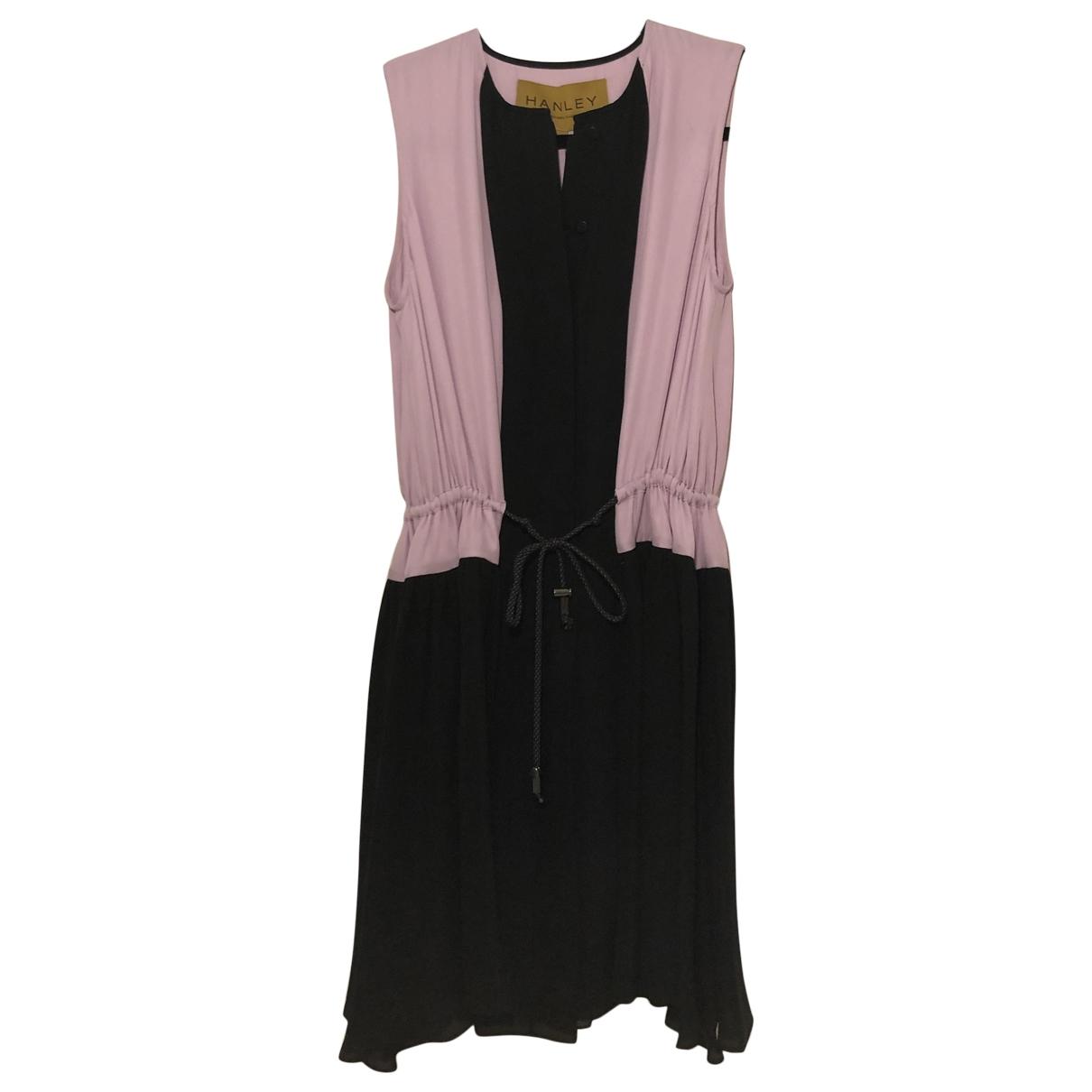 Hanley - Robe   pour femme en soie - violet