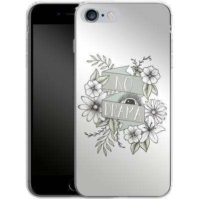 Apple iPhone 6s Plus Silikon Handyhuelle - No Drama - Green von Barlena