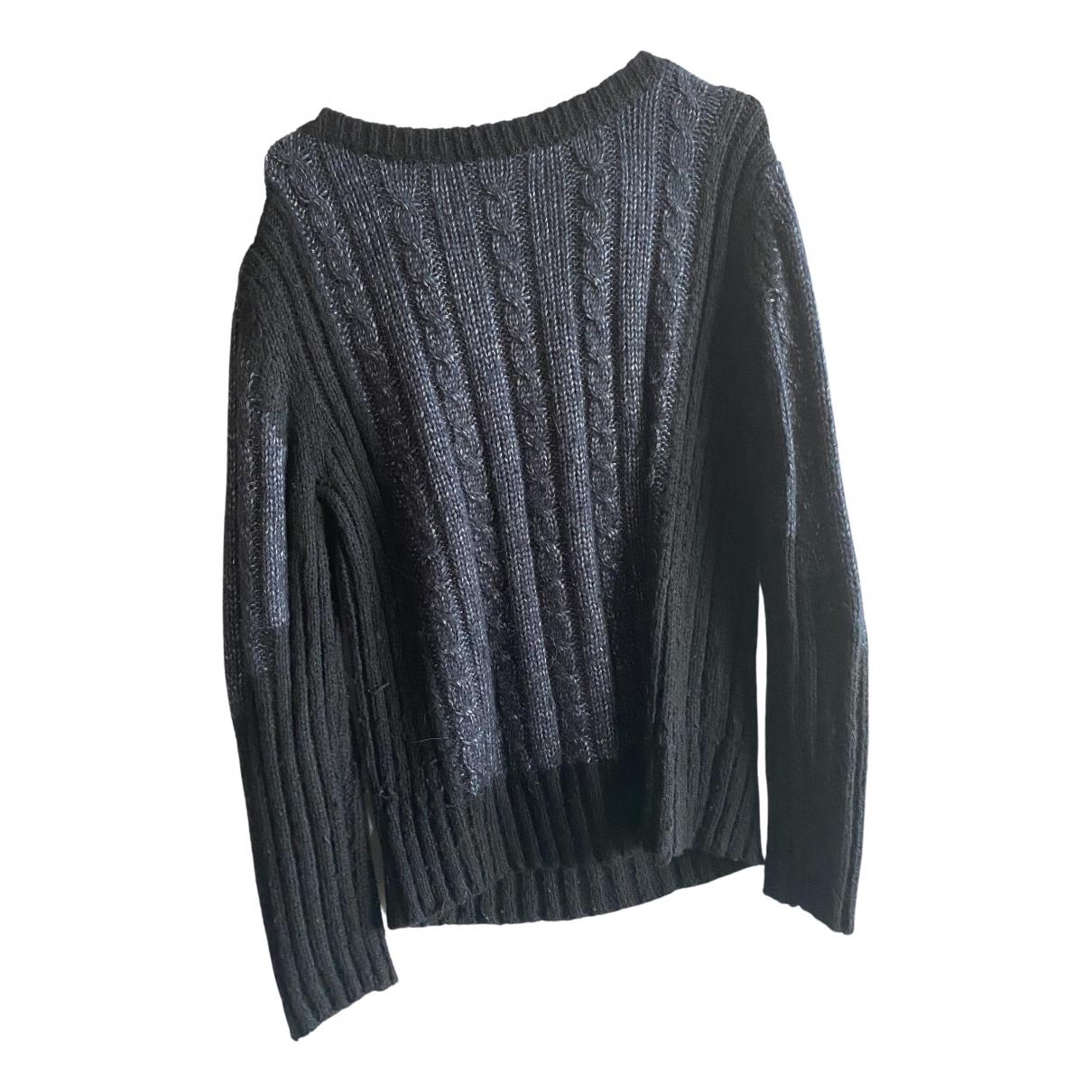 Les Petites - Pull   pour femme en laine - noir