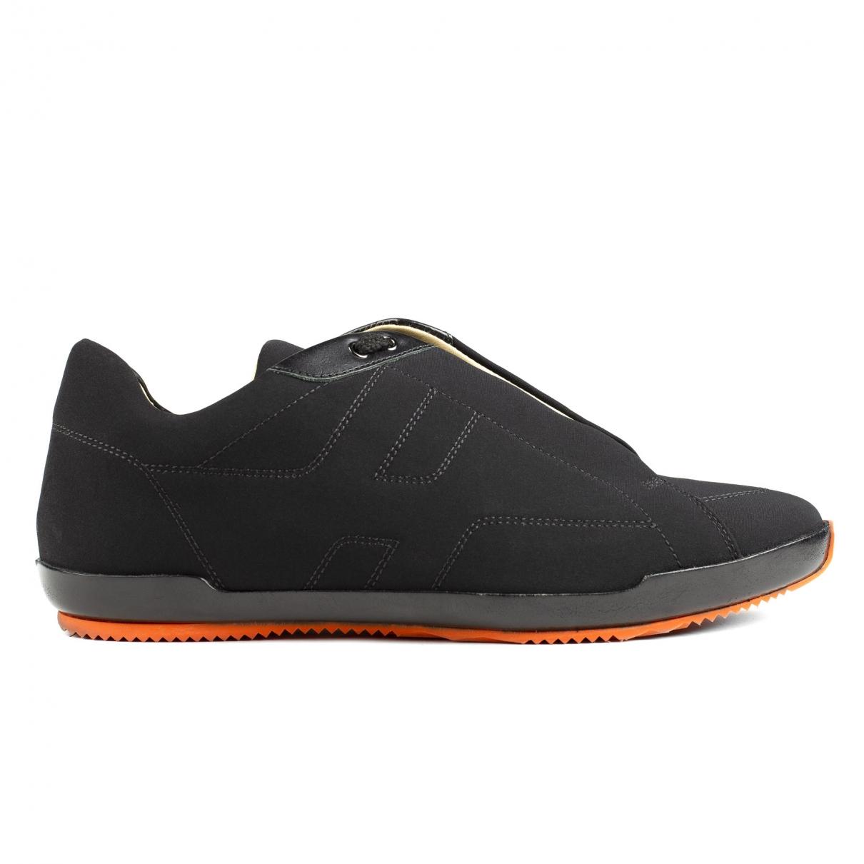 Hermes \N Sneakers in  Schwarz Leinen