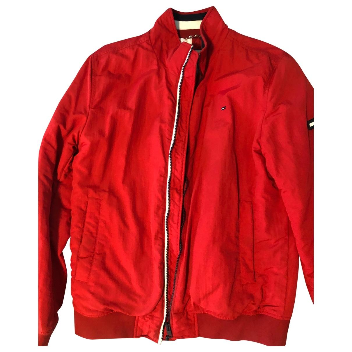 Tommy Jean - Vestes.Blousons   pour homme en coton - rouge