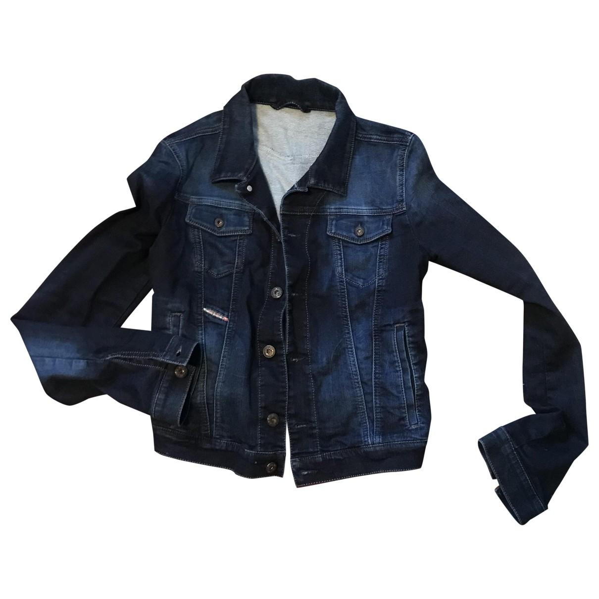 Diesel \N Blue Denim - Jeans jacket for Women XS International