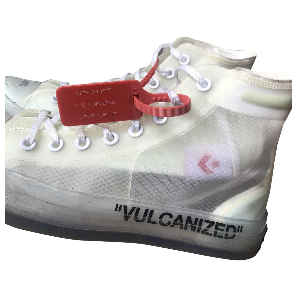 Converse X Off-white - Baskets   pour homme - blanc