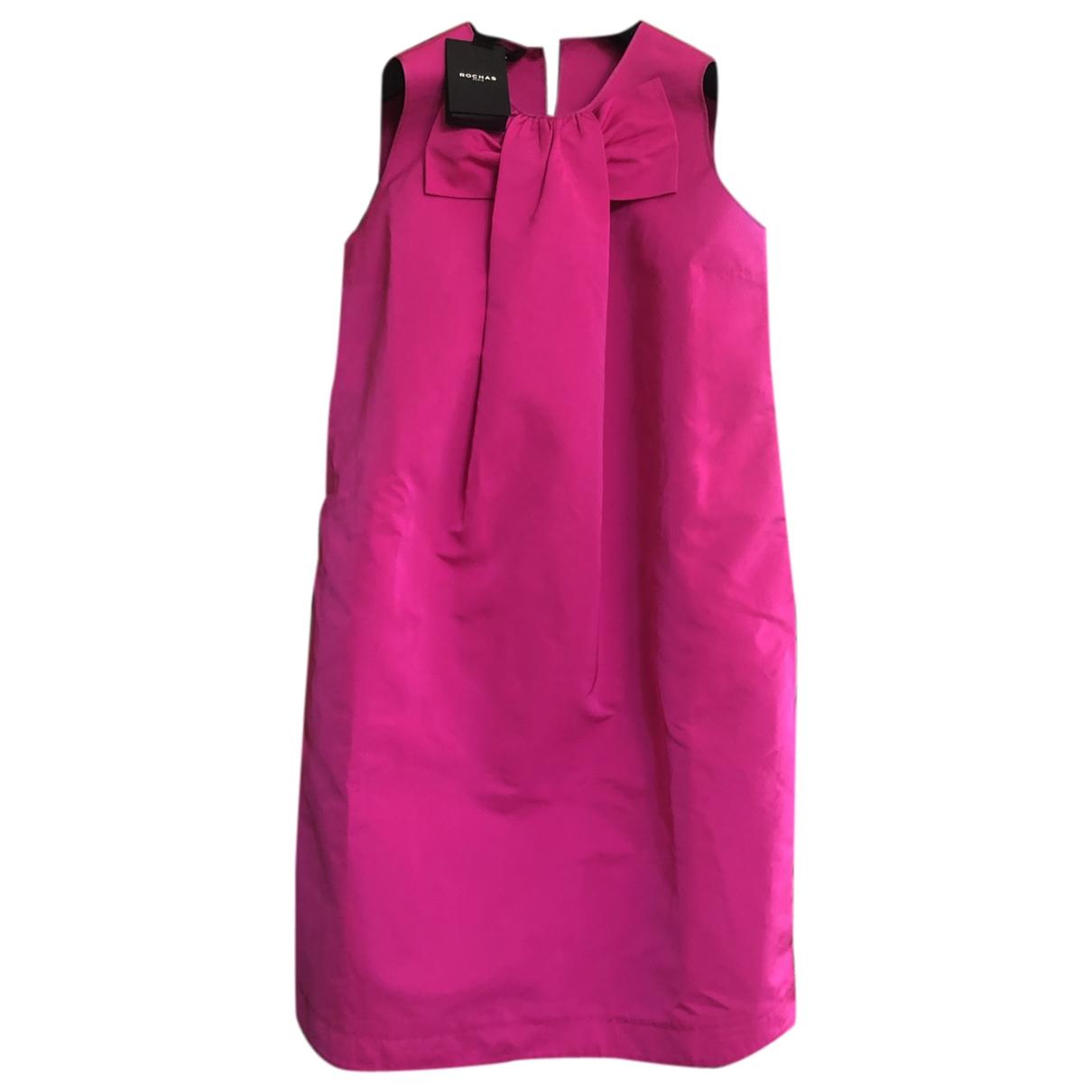 Rochas \N Pink dress for Women 38 FR