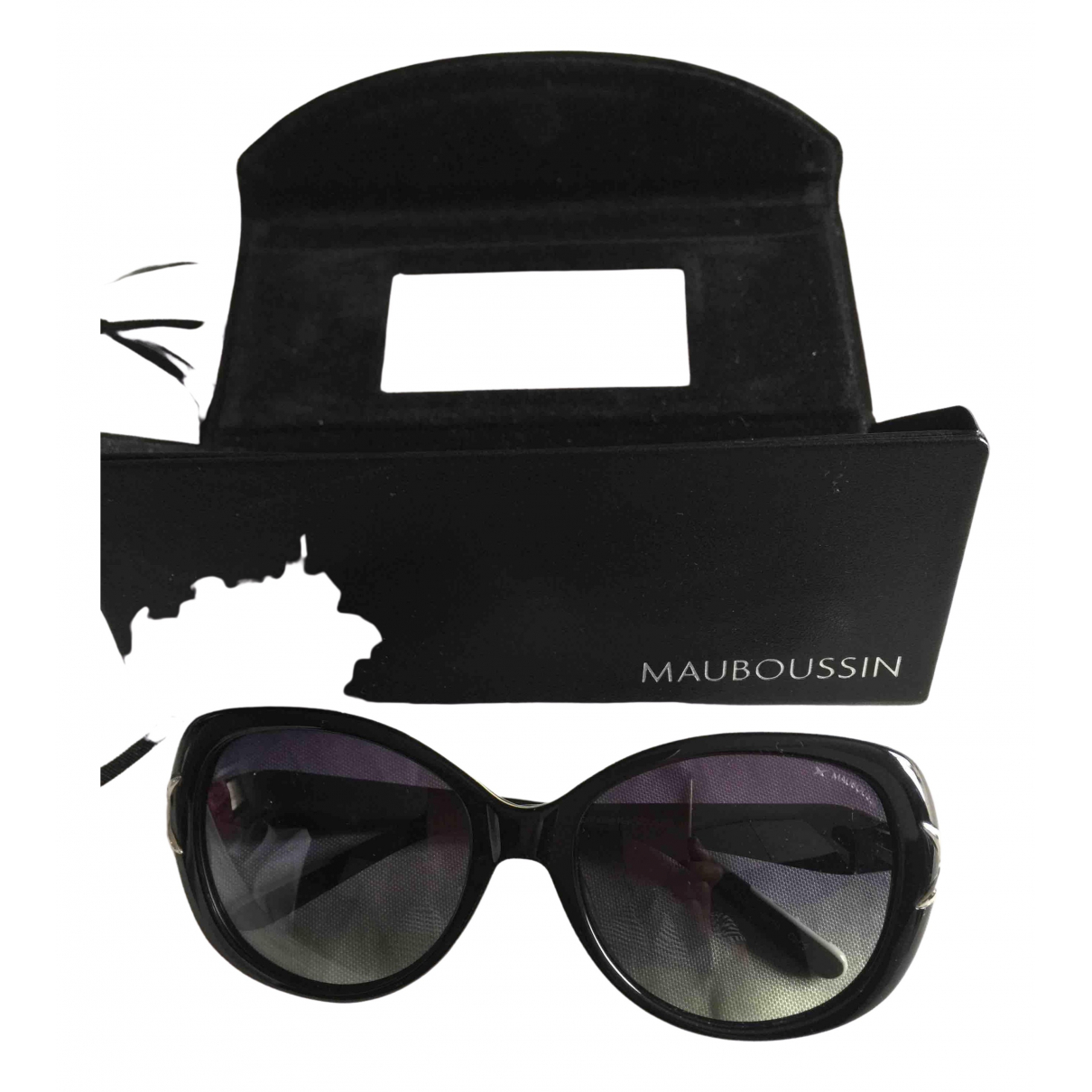 Mauboussin \N Black Sunglasses for Women \N