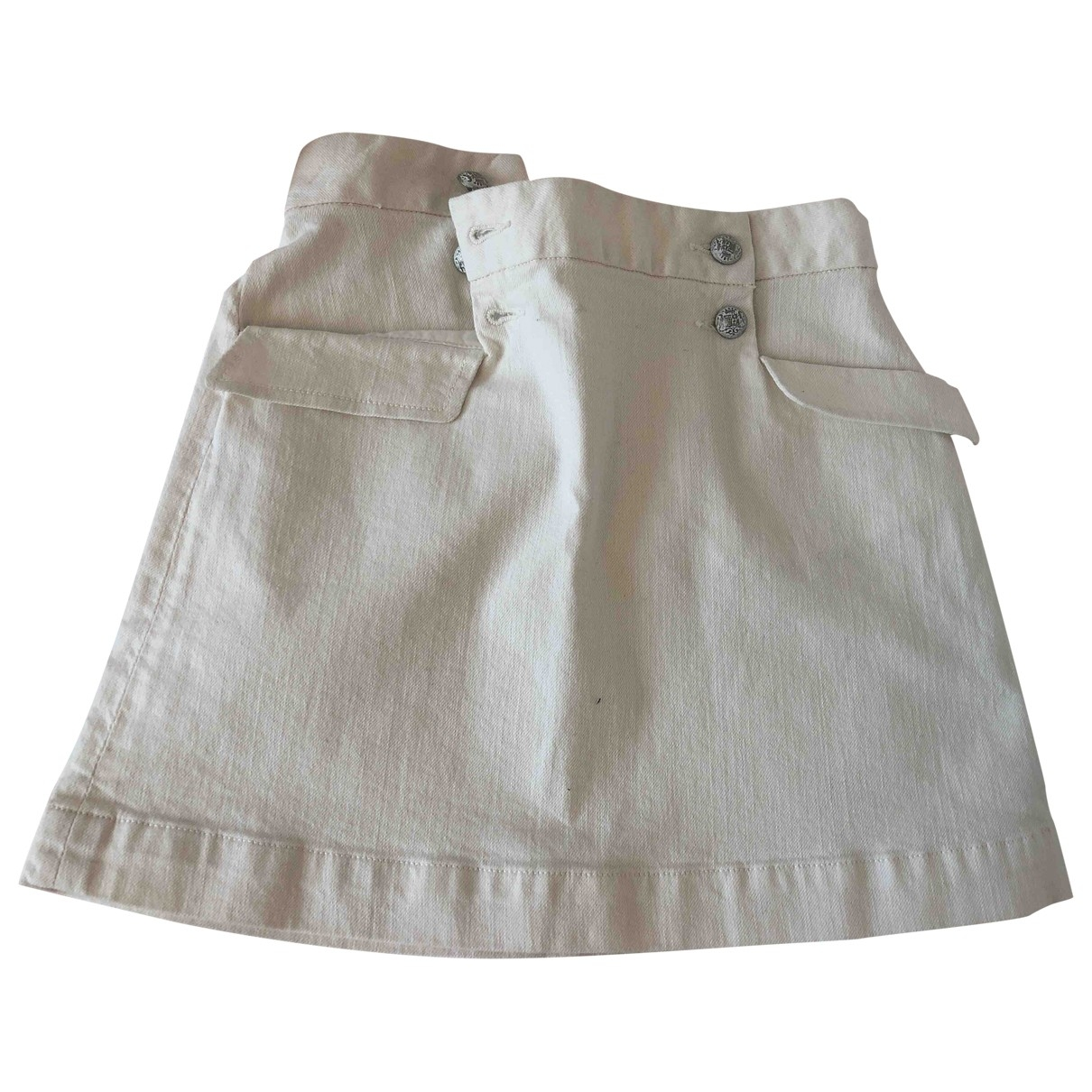 Bonpoint \N Beige Cotton skirt for Kids 8 years - up to 128cm FR