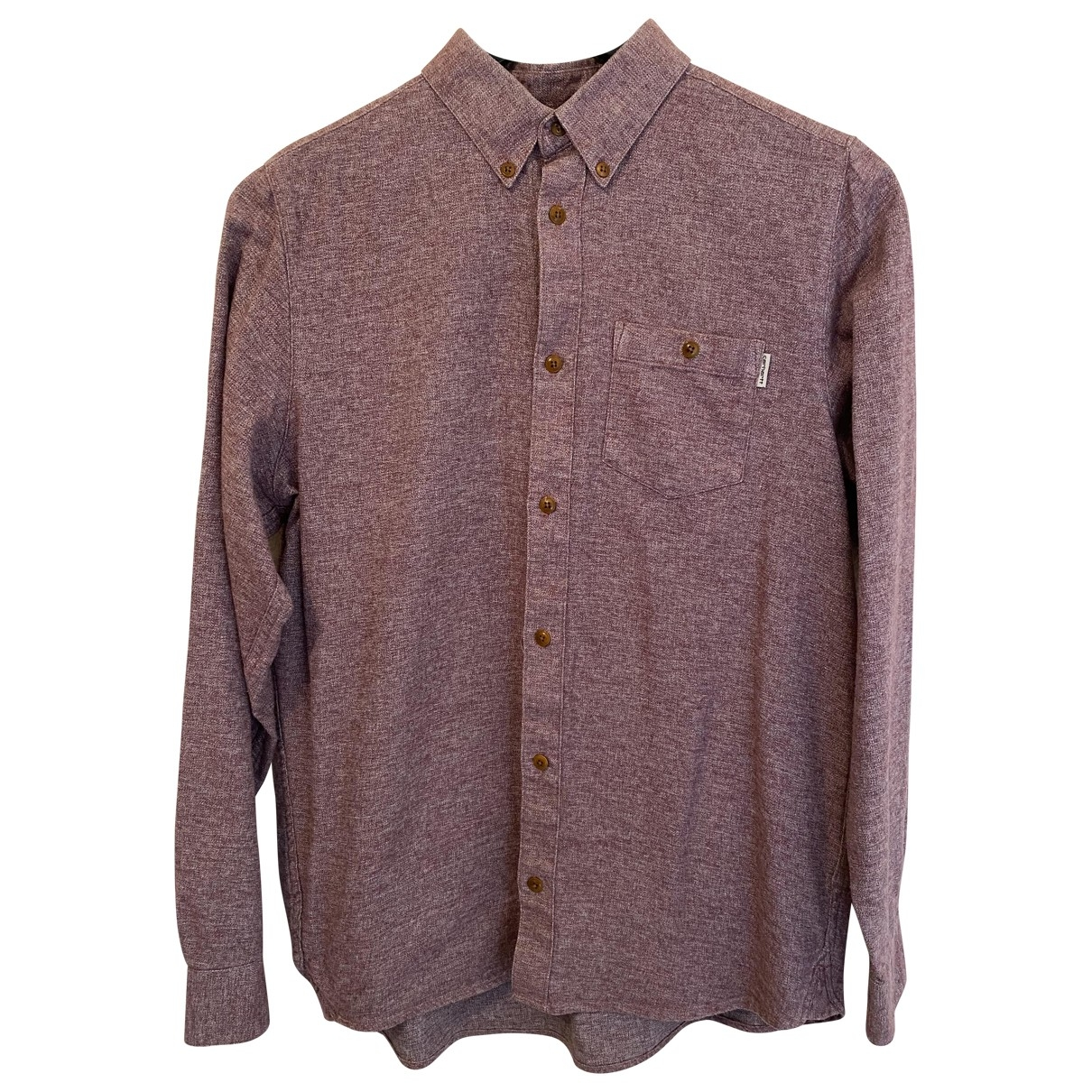 Carhartt \N Burgundy Cotton Shirts for Men S International