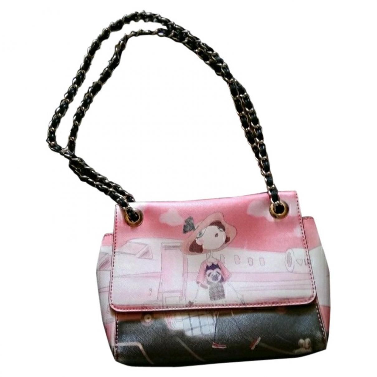 Moschino Love \N Pink Leather handbag for Women \N