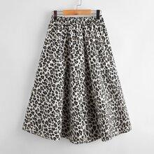 Faldas para niñas Leopardo Casual