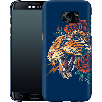 Samsung Galaxy S7 Edge Smartphone Huelle - Ornate Leopard von BIOWORKZ