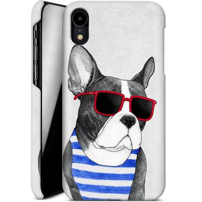 Apple iPhone XR Smartphone Huelle - Frenchie Summer Style von Barruf