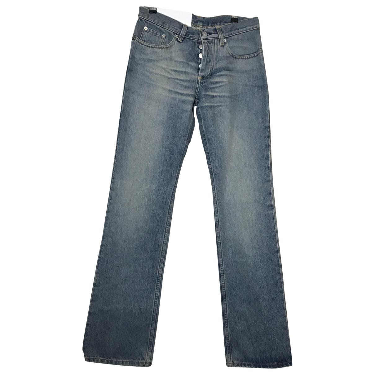 Helmut Lang \N Blue Denim - Jeans Jeans for Women 27 US