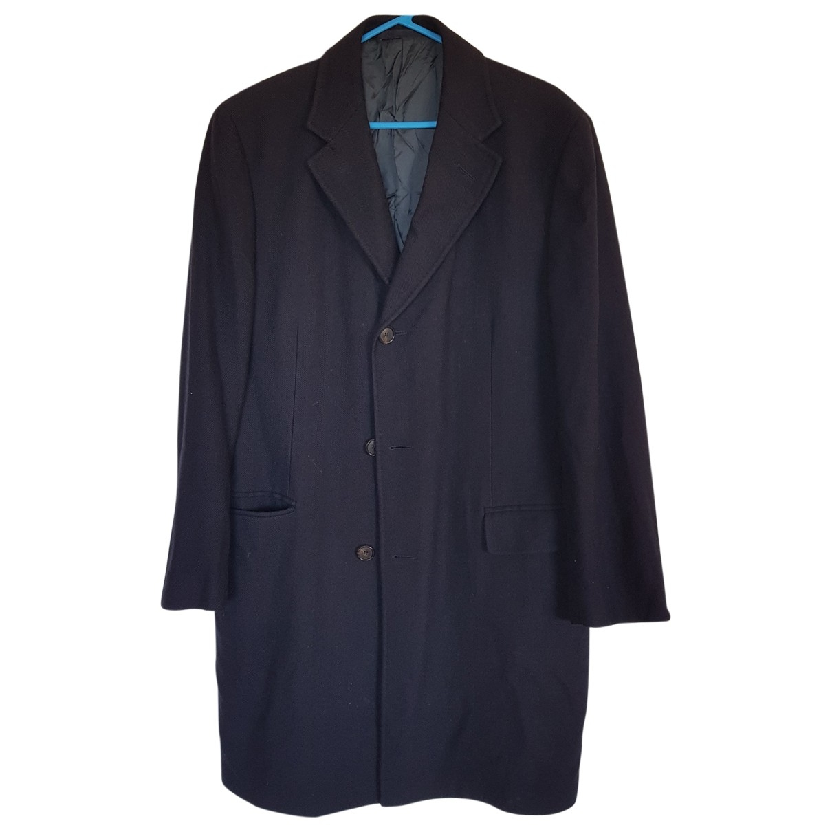 Ermenegildo Zegna - Manteau   pour homme en coton - marine