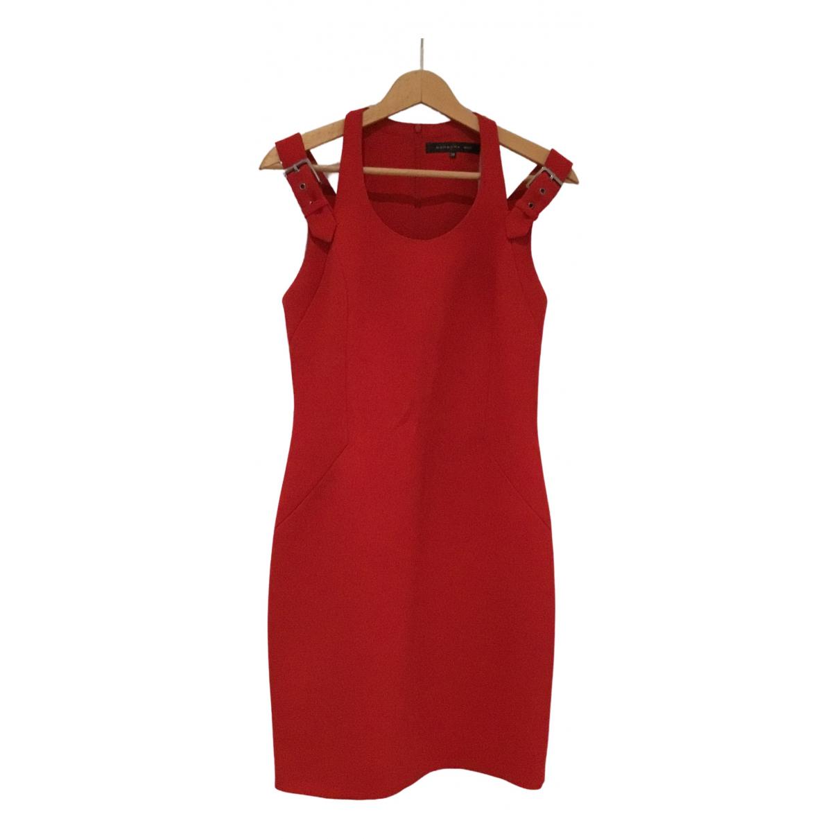 Barbara Bui \N Kleid in  Rot Viskose