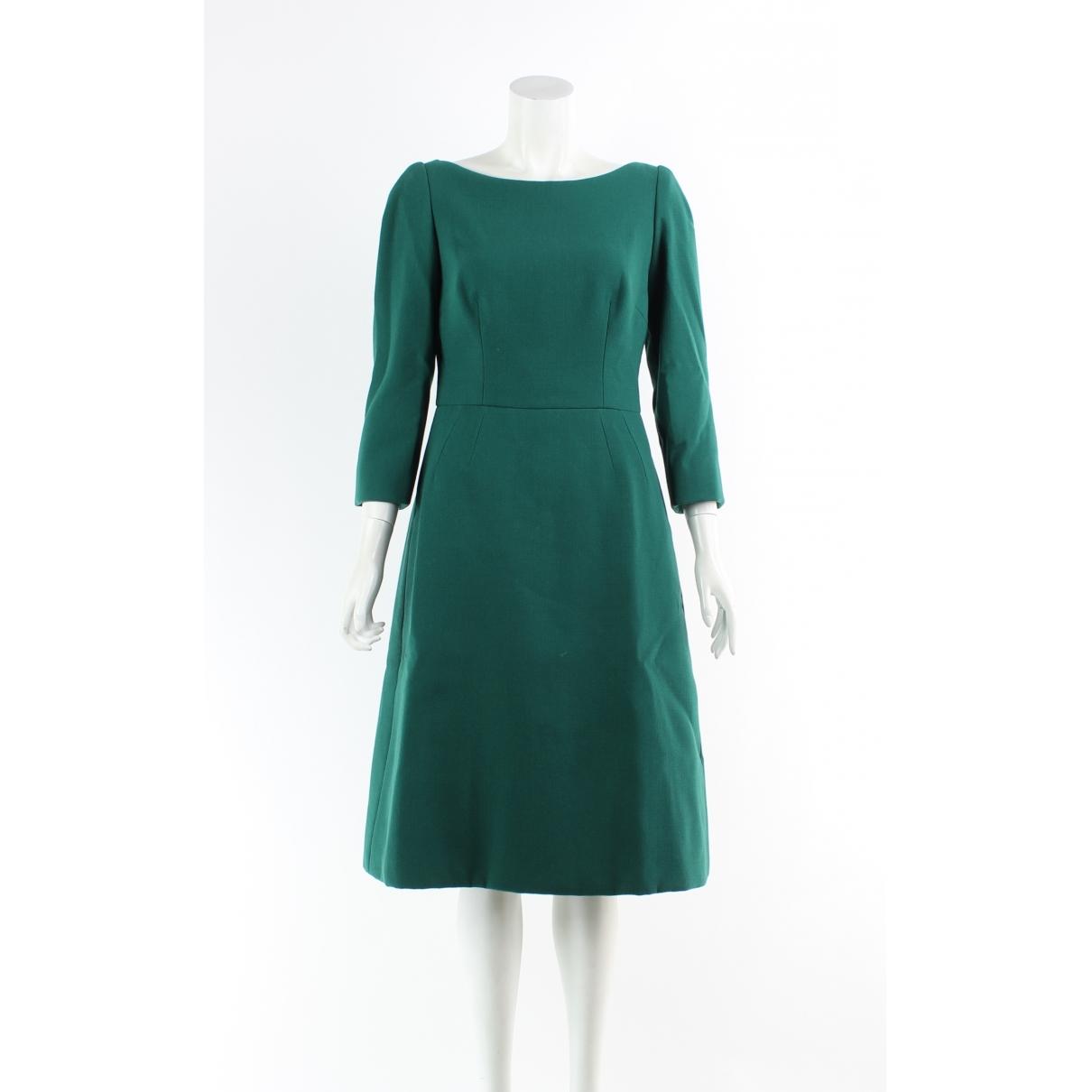 Dolce & Gabbana \N Kleid in  Gruen Seide
