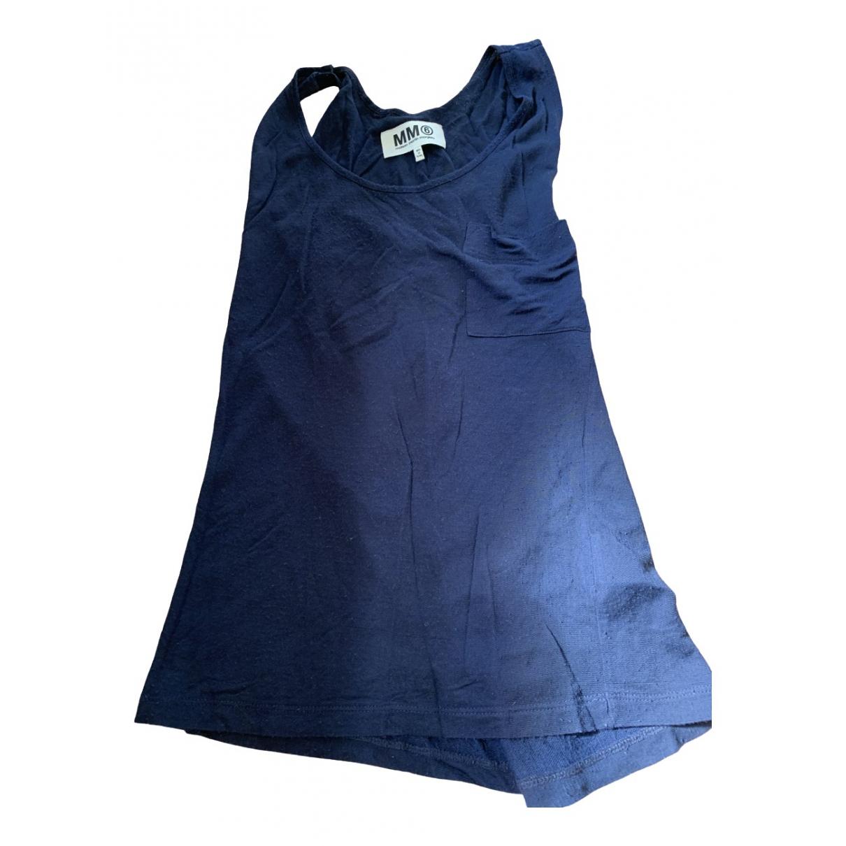 Mm6 - Top   pour femme - bleu