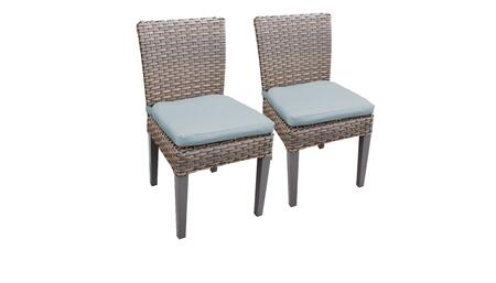 TKC290b-ADC-C-SPA 2 Oasis Side Chairs - Grey and Spa