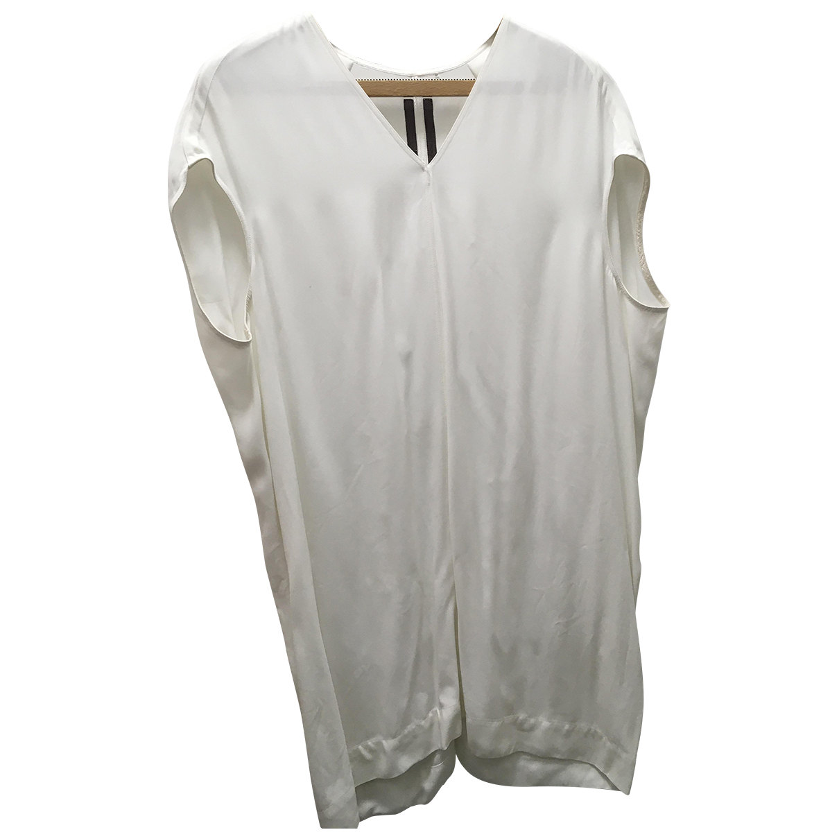 Rick Owens \N White Silk  top for Women 12 UK