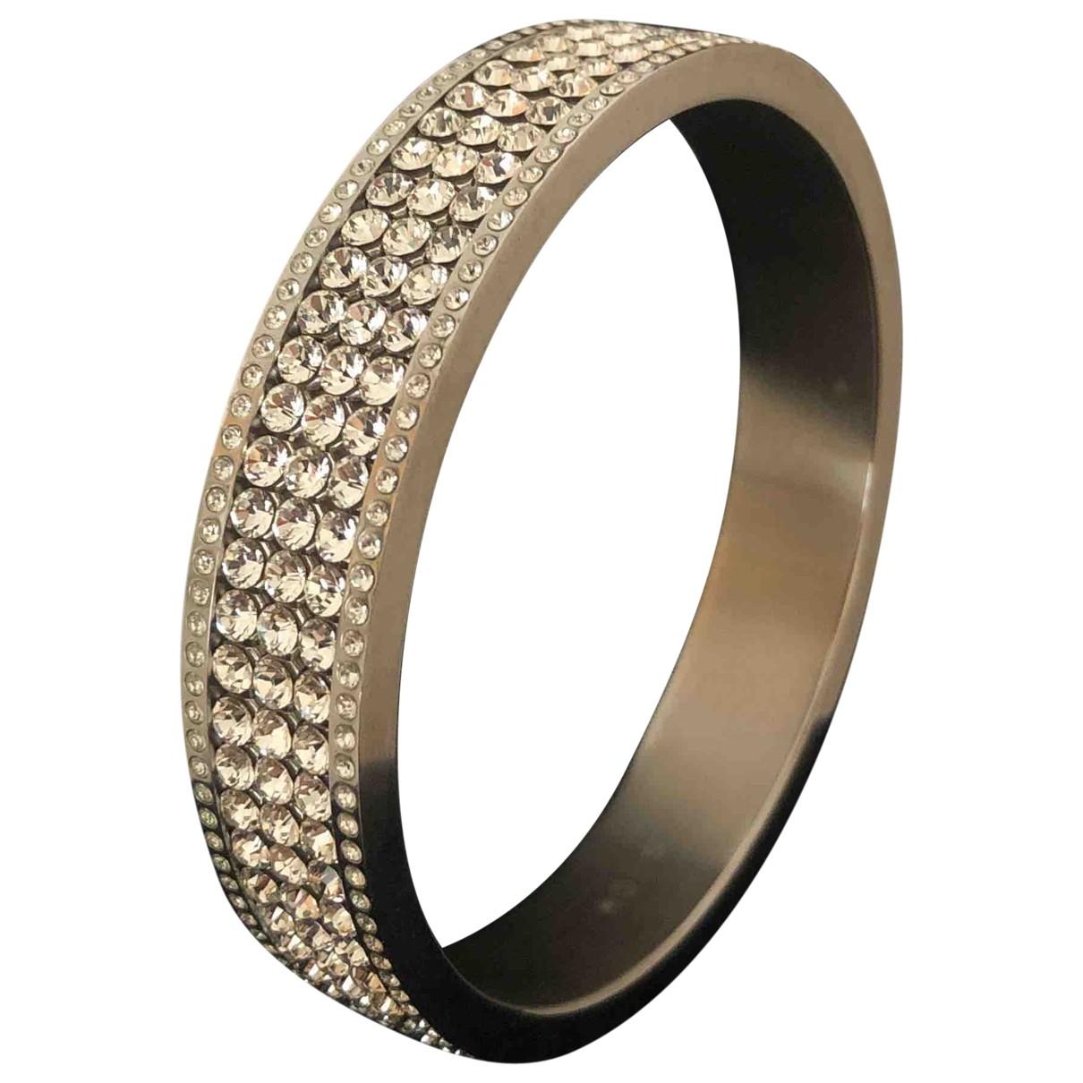 Swarovski \N Armband in  Silber Stahl