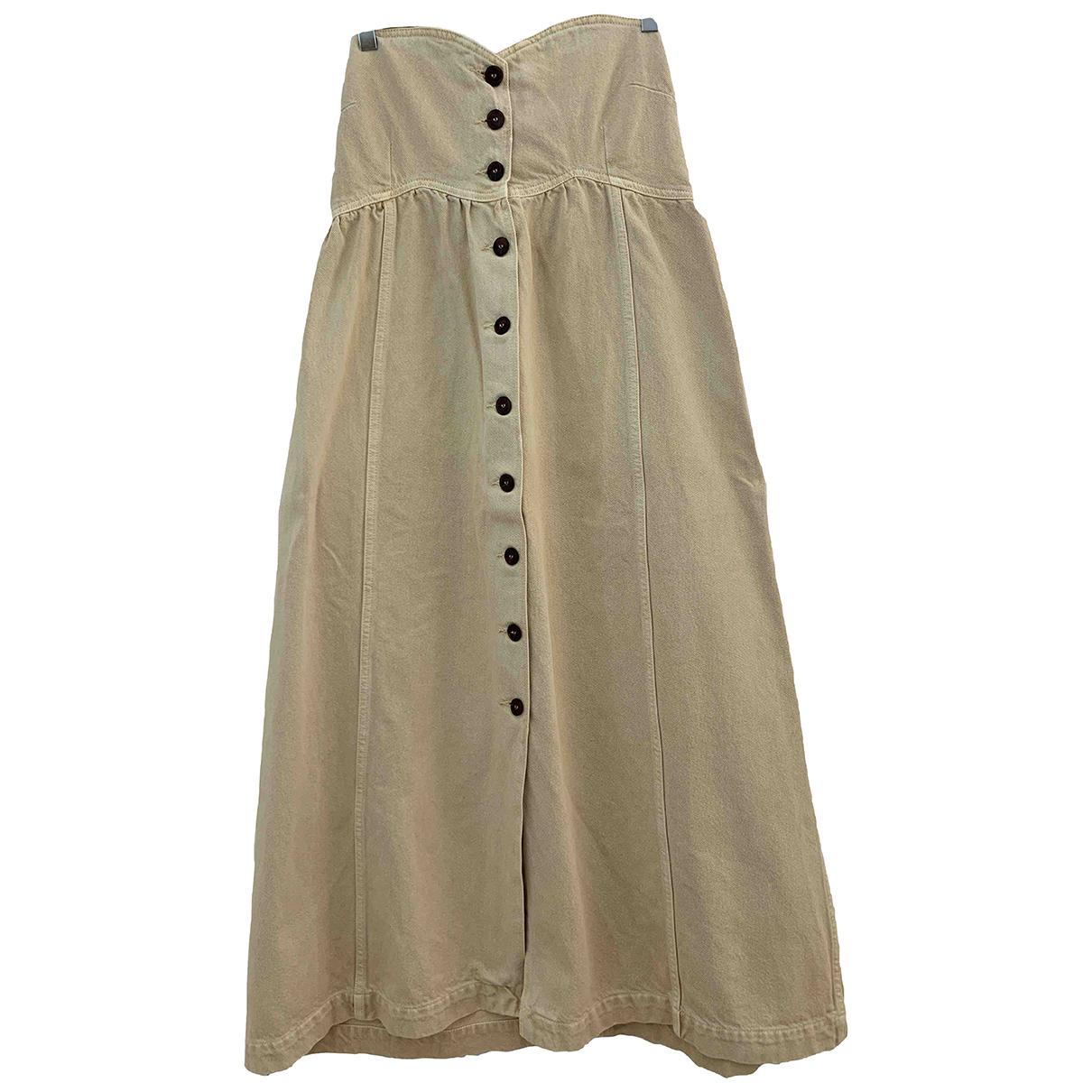 Nanushka N Ecru Cotton dress for Women XS International