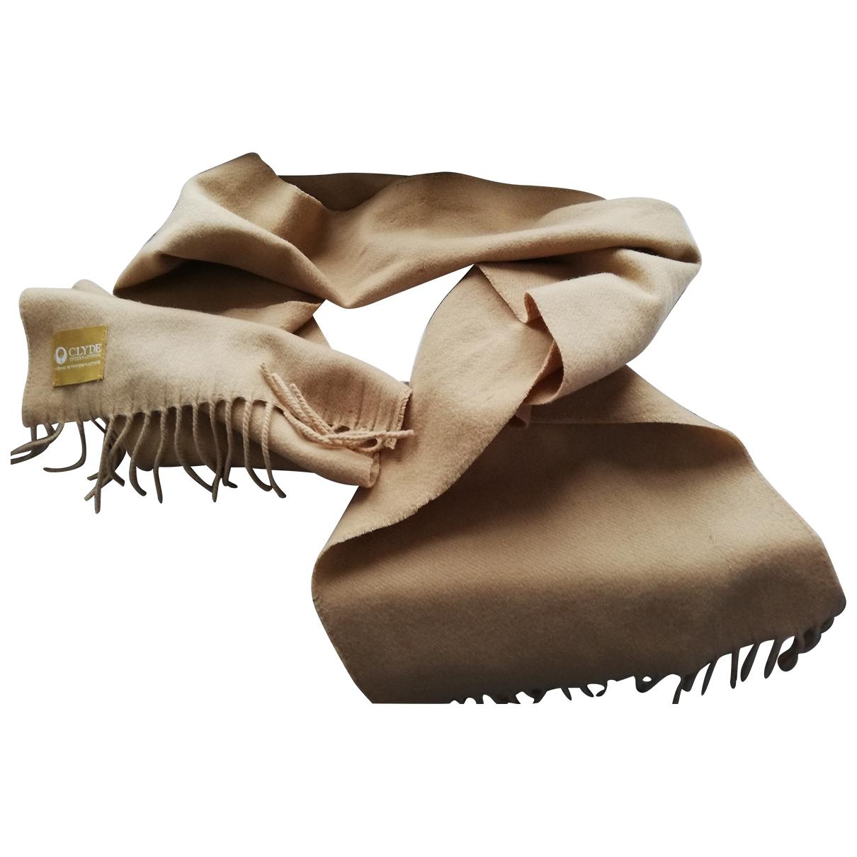 Clyde - Cheches.Echarpes   pour homme en laine - camel