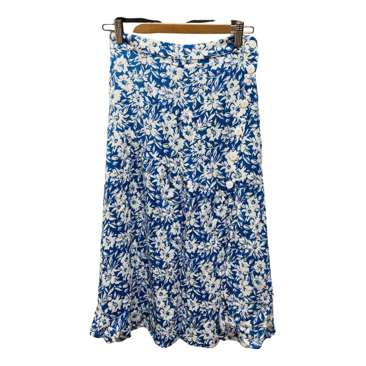 Zara - Jupe   pour femme - bleu