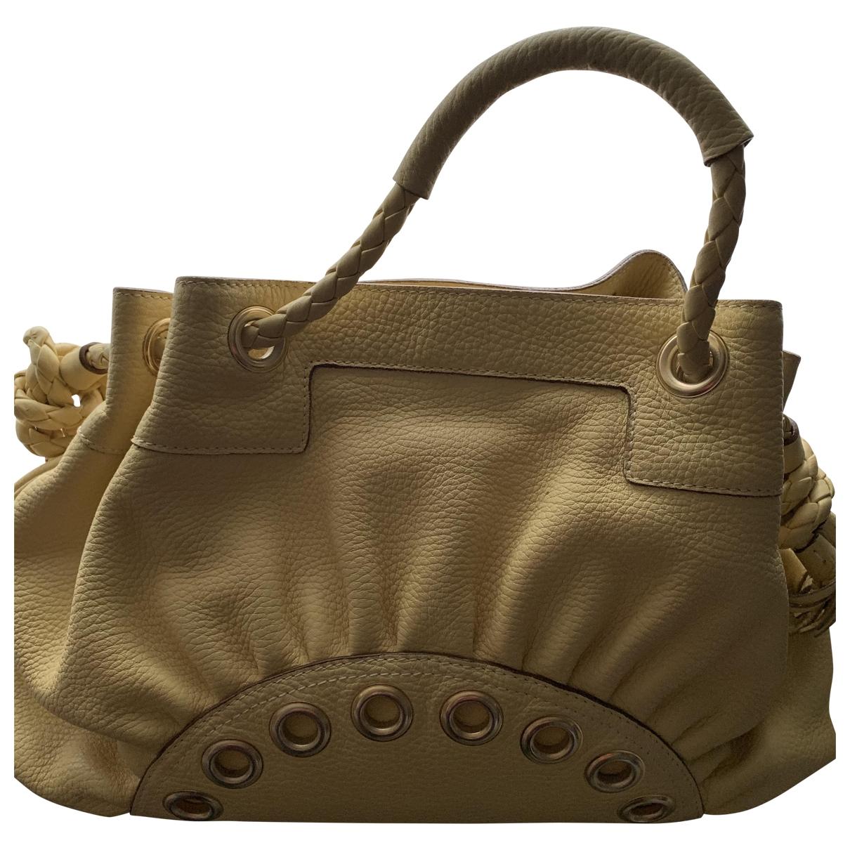 Anya Hindmarch \N Yellow Leather handbag for Women \N