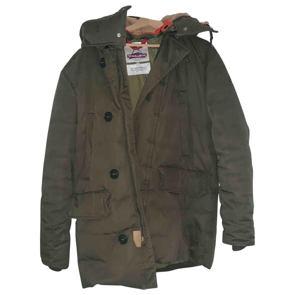 - Manteau   pour homme en coton - kaki