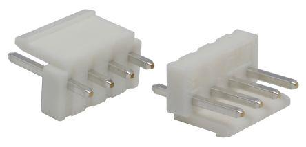 JST , VH, B4P, 4 Way, 1 Row, Straight PCB Header (5)